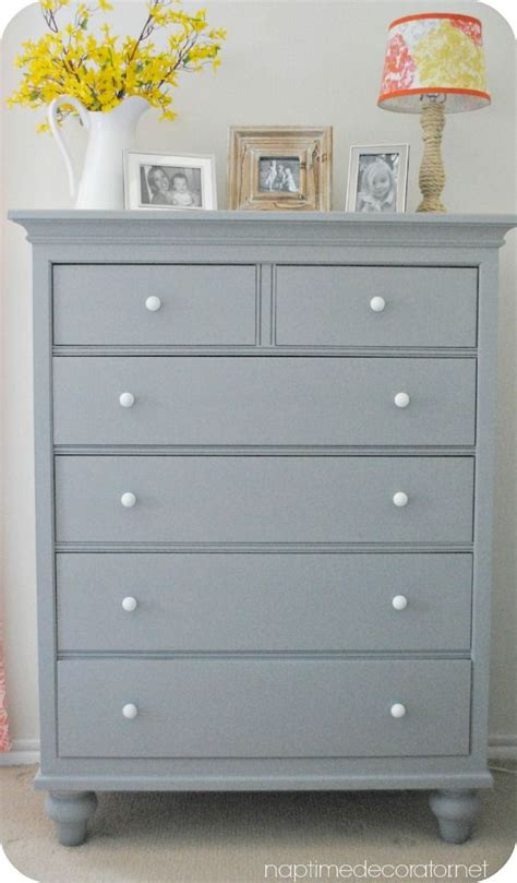Painting Bedroom Furniture Gray Best 25 Dresser Makeovers Ideas On Diy