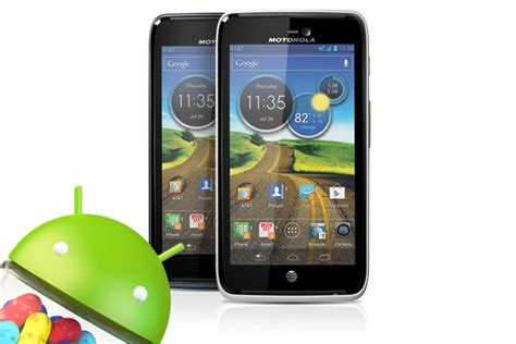 Hp Motorola Android Jelly Bean at t pushes out jelly bean update for motorola atrix hd
