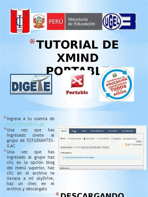 tutorial xmind pdf manual del software xmind portable