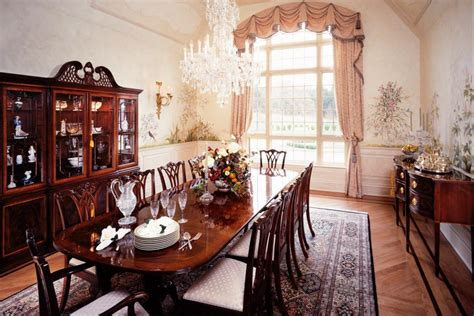 formal dining room tables for 12 15 dining room decorating ideas hgtv
