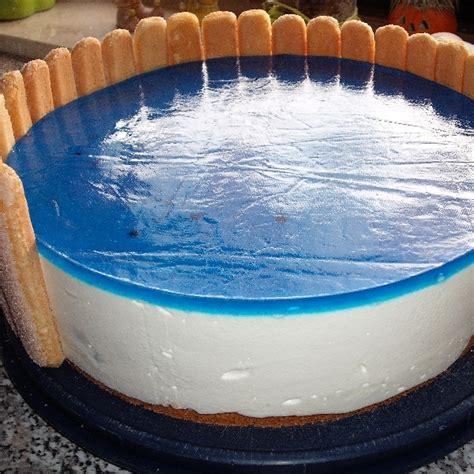 freibad kuchen themen torte oder auch als schwimmbad torte bekannt rezept