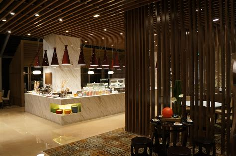 modern restaurant design ultra contemporary hotel in zhongshan china by dwp