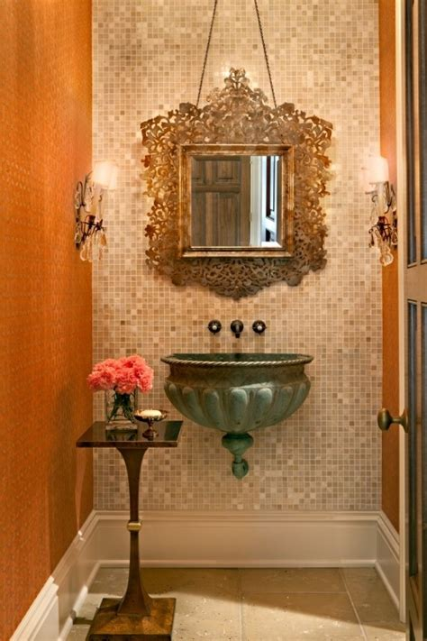 powder room sink ideas 25 gorgeous powder rooms that can amaze anybody digsdigs
