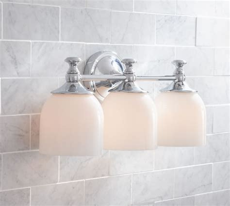 Pottery Barn Bathroom Fixtures 29 Best Images About Master Bath On Chrome Finish Paint Colors And Glass Shelves