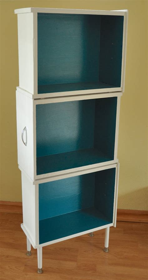 upcycled three drawer bookcase recycling reduce reuse