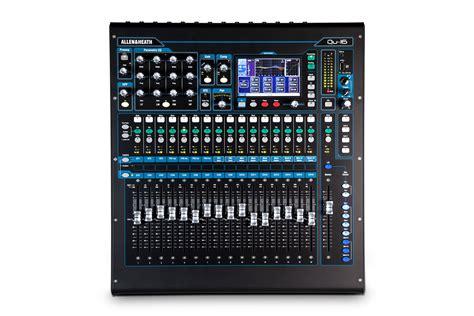 qu 16 rackmountable digital mixer for live studio and