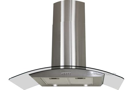 stove hoods 30 quot kitchen wall mount stainless steel glass range