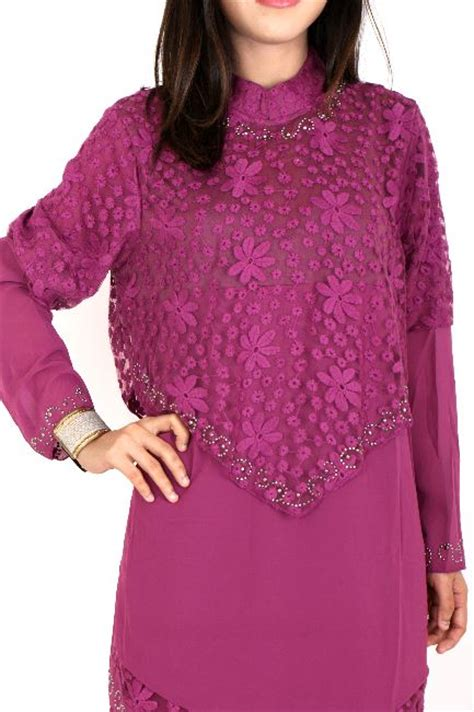 Pakaian Dress Bahan Semi Jersey Kombinasi Brukat Quality jual grosir baju gamis muslim impor mewah jersey brokat min 1 seri merah ungu kuning