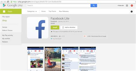 facebook lite the new facebook lite app is just as light as expected