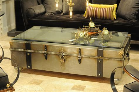 metal trunk coffee table trunk coffee table design images photos pictures