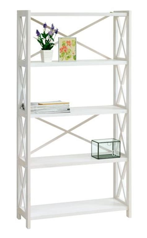 Jysk Room Divider Shelving Unit Ranum 5 Shelves White Jysk