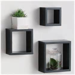 Fancy wooden cube wall shelves 292644 home design ideas