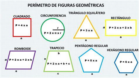 figuras geometricas con area y perimetro imagen formato sexto grado quot b quot carlos a carrillo