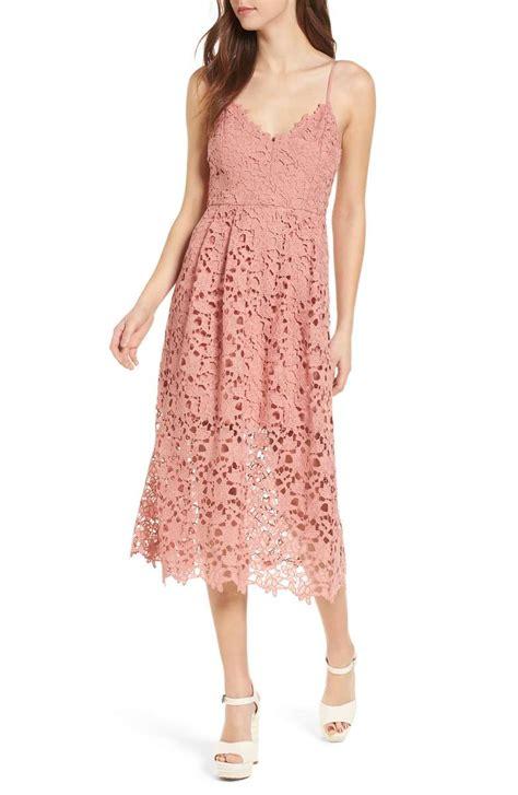 Midi Dress Flow Pink 22 best blush pink wedding guest dresses candie