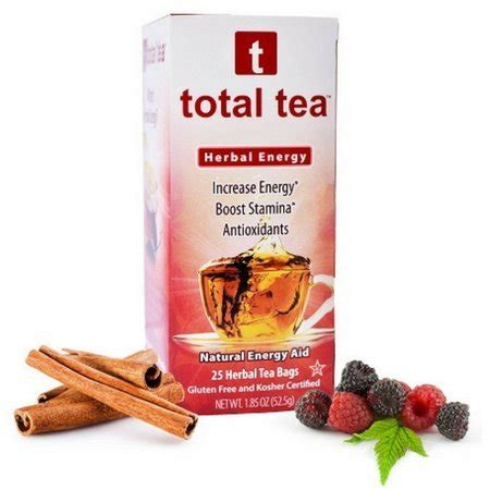 Total Image Detox Tea Review by Total Tea Energy Tea 2 100 Better Focus And