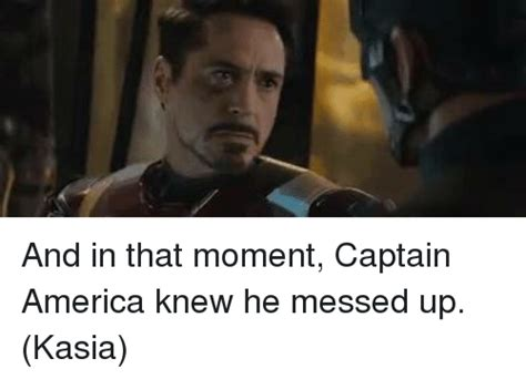 Tells He Messed Up The - funny captain america memes of 2017 on sizzle america