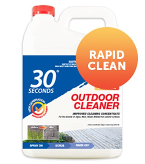 outdoor cleaner new generation 30 seconds