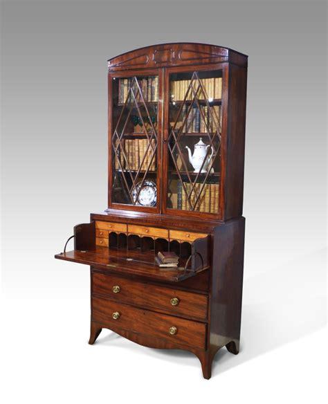 antique secretaire bookcase regency bookcase desk