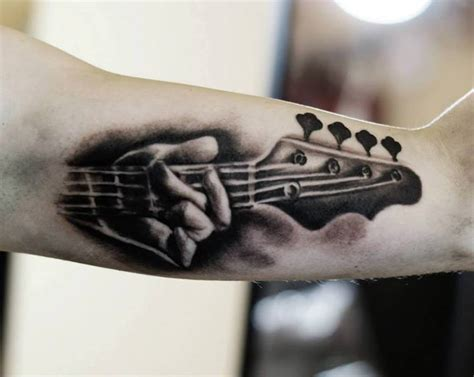bass guitar tattoo designs guitar tattoos design ideas pictures gallery