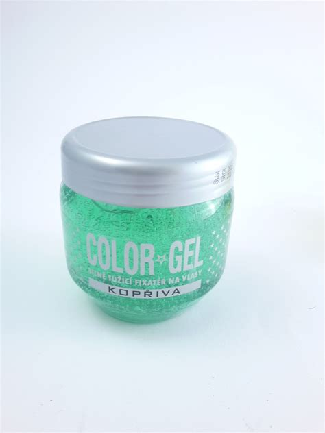 Pulver Gel Nägel by Color Gel Na Vlasy 400g Kopřiva Zelen 221 Drogerie Parf 233 My