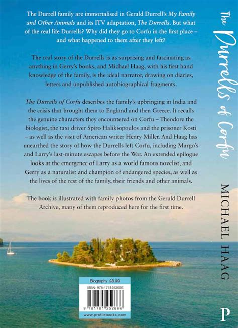 the durrells of corfu books michael haag the durrells of corfu into paperback