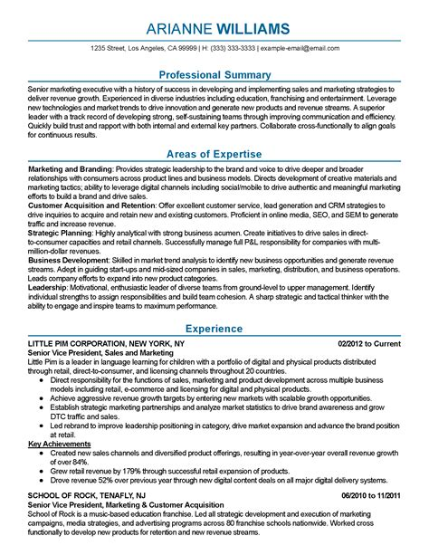 hotel sales manager resume hospitality marketing guests