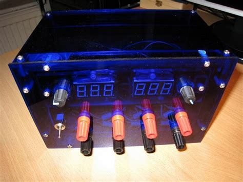 how to make a bench power supply how to make a diy acrylic power supply
