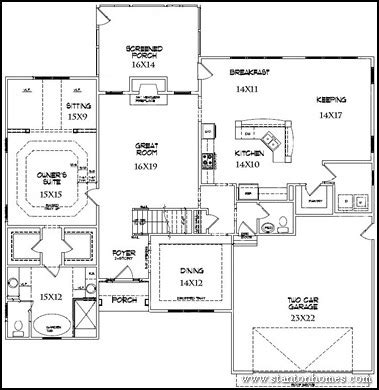 Kitchen Center Island Designs by 11 Floor Plans That Say Come Over For The Game Custom