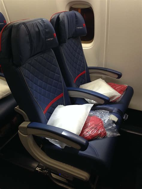 Comfort Seating by Delta Comfort Plus Review The Travel Bite