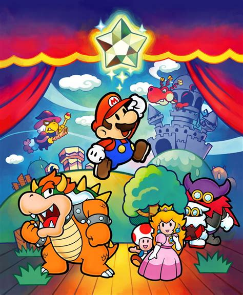 Paper Mario And The Thousand Year Door by Paper Mario The Thousand Year Door Iso