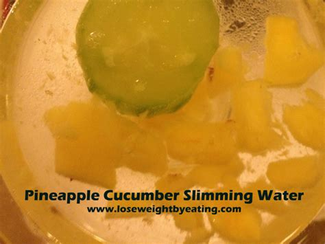 Pineapple Detox Water For Weight Loss by Pineapple Water With Cucumber Recipe
