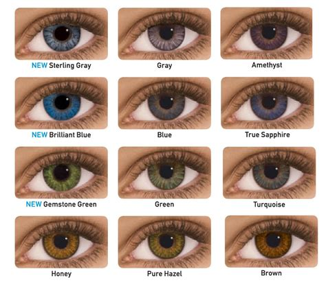 contacts colors freshlook dailies colored contact from eyecandy s cosmetic