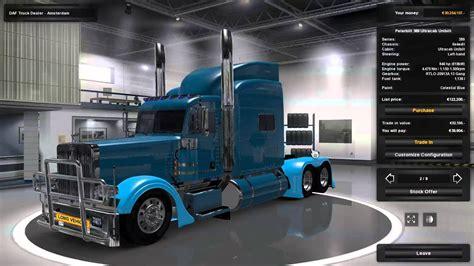 mega truck peterbilt mega truck pack 187 gamesmods net fs17 cnc
