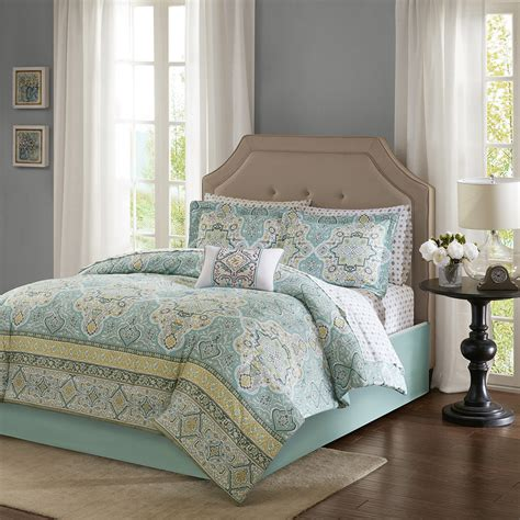 madison park essentials cara complete comforter set