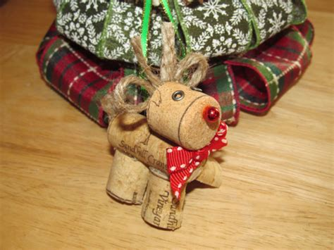 items similar to wine cork rudolph christmas ornament on etsy