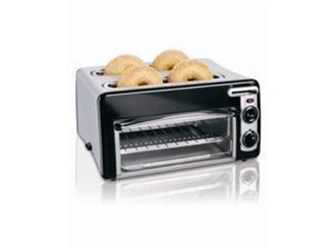 4 Slice Toaster And Toaster Oven Combo Neweggbusiness Hamilton 24708 Silver Toastation 4