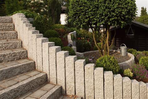 palisaden und randsteine natursteine kaufen - Stein Palisaden