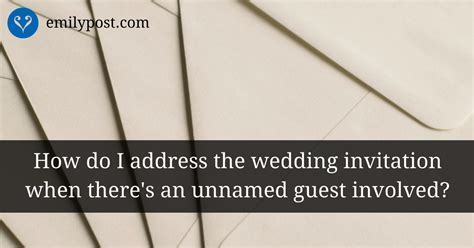 should i put return address on wedding invitation addressing sending wedding invitations the emily post