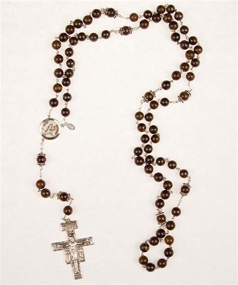 franciscan rosary 7 decade franciscan crown rosary rosaries and chaplets