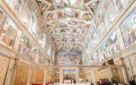 decke der sixtinischen kapelle 360 grad ansicht der sixtinischen kapelle hier wird der