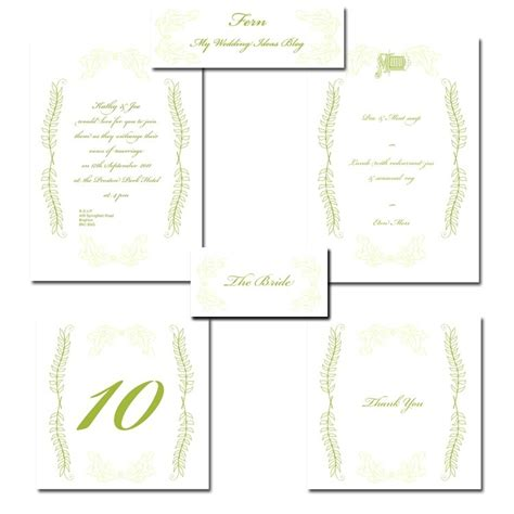 free printable thank you place cards free printable wedding stationery invitations menu