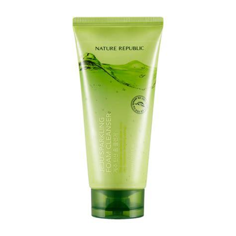 Jeju Aloe Aqua Foam Cleanser пенка для умывания с газированной водой 300 мл jeju