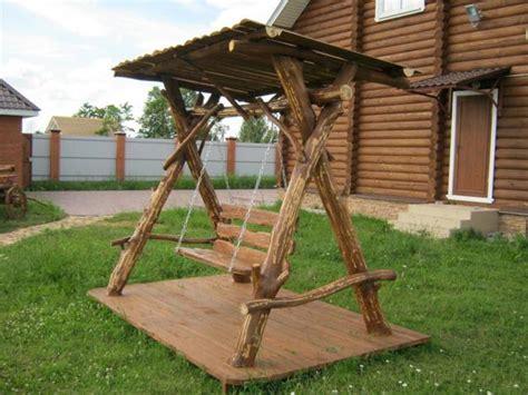 backyard swing ideas playful garden furniture swings adding fun to backyard