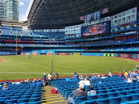 section 113 rogers centre rogers centre section 113b toronto blue jays