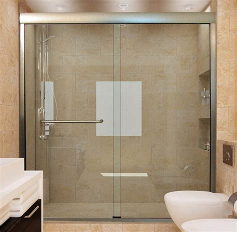 Showers With Sliding Doors Sliding Shower Doors Custom For Showers And Bathtubs Inside Glass Remodel 3 Mprnac