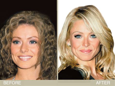 hair color kelly ripa uses kelly ripa s brown to blonde hair makeover hair color