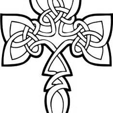 abstract cross coloring pages free printable celtic cross coloring pages clipart best