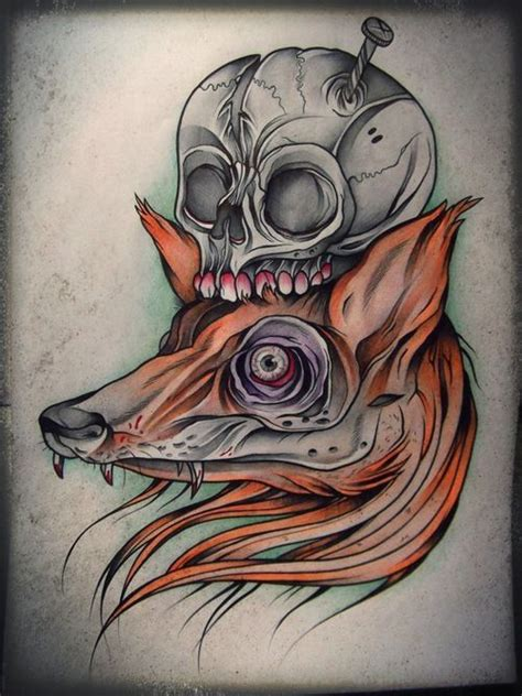 sick skull tattoos coloring ink and from home on