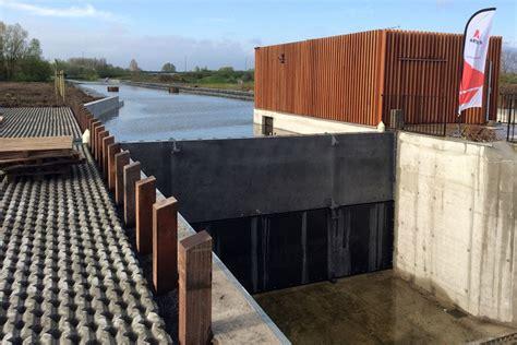 bureau sur tr騁eau bureau greisch mise sous eau du nouveau barrage sur la