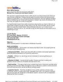 free resume template highlighting skills example good resume